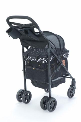 Mother Cart(マザーカート) ラプレ ブラックデニム(前面メッシュ新型)