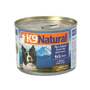 K9ナチュラル K9Natural K9ナチュラル プレミアム缶 ビーフ・フィースト