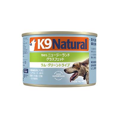 K9ナチュラル K9Natural プレミアム缶 グリーントライプ