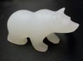 ホワイトカルサイト 白クマ