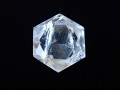CB0459 レインボー水晶/六芒星(ヘキサグラム) 76g