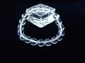 CA0161 【稀少/1点もの】 チベット カイラス産 水晶 10mm ブレスレット