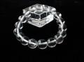 CA0227 【稀少】 ネパール アンナプルナ(ポカラ)産 水晶 11.4mm~12.3mm ブレスレット