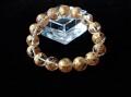 CC0511 龍(五爪)金彫り 水晶 12mm ブレスレット ◇ネコポス対応可◇