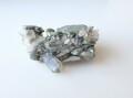 AB2981 【珍品】 ロシア ウラル産 水晶/フックサイト共生 97.9g