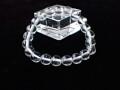CA0234 【稀少】 ネパール アンナプルナ(ポカラ)産 水晶 9mm~10mm ブレスレット