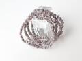 AB2668 ダイヤモンド 原石(ミックスカラー) ブレスレット