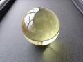 OD0092 オウロヴェルデクォーツ(Ouro verde quartz)/ファントム スフィア(丸玉) 直径:46.3mm