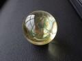 OD0091 オウロヴェルデクォーツ(Ouro verde quartz) スフィア(丸玉) 直径:41mm