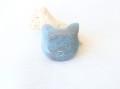 TP0010 トロレアイトインクォーツ 猫 ◇ネコポス対応可◇