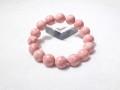 CQ0014 【珍品】 ピンクゾイサイトクォーツ 12.5mm~12.9mm ブレスレット ◇ネコポス対応可◇