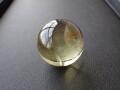 OD0097 オウロヴェルデクォーツ(Ouro verde quartz) スフィア(丸玉) 直径:36mm