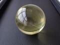 OD0100 オウロヴェルデクォーツ(Ouro verde quartz)/ファントム スフィア(丸玉) 直径:54.8mm