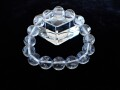 CC0529 ガネーシュヒマール産 ヒマラヤ水晶 12mm(16粒) ブレスレット