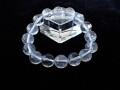 CC0531 ガネーシュヒマール産 ヒマラヤ水晶 12mm(16粒) ブレスレット