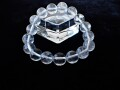 CC0533 ガネーシュヒマール産 ヒマラヤ水晶 12mm(17粒) ブレスレット