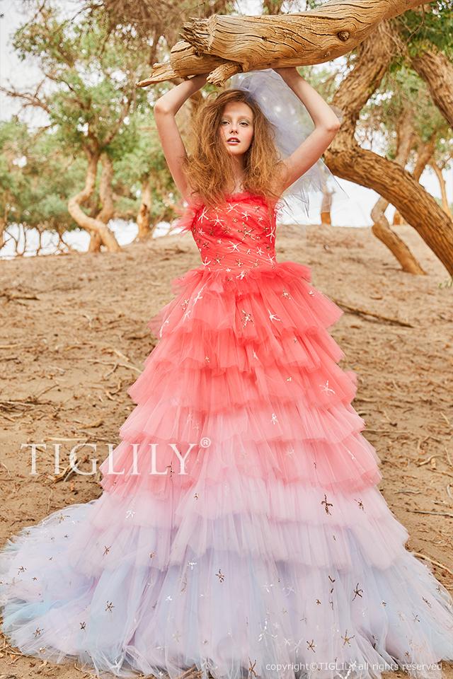 【アルマ Alma】ウェディングドレス_カラードレス(c203)