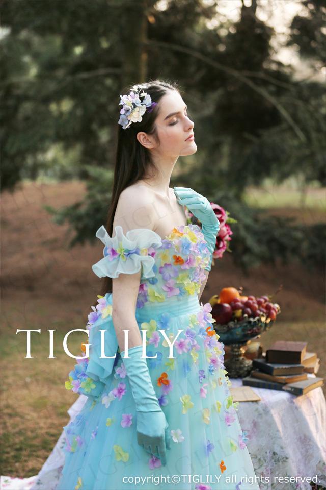 お花のアームレット(b023) ※ドレスと同時購入のみ