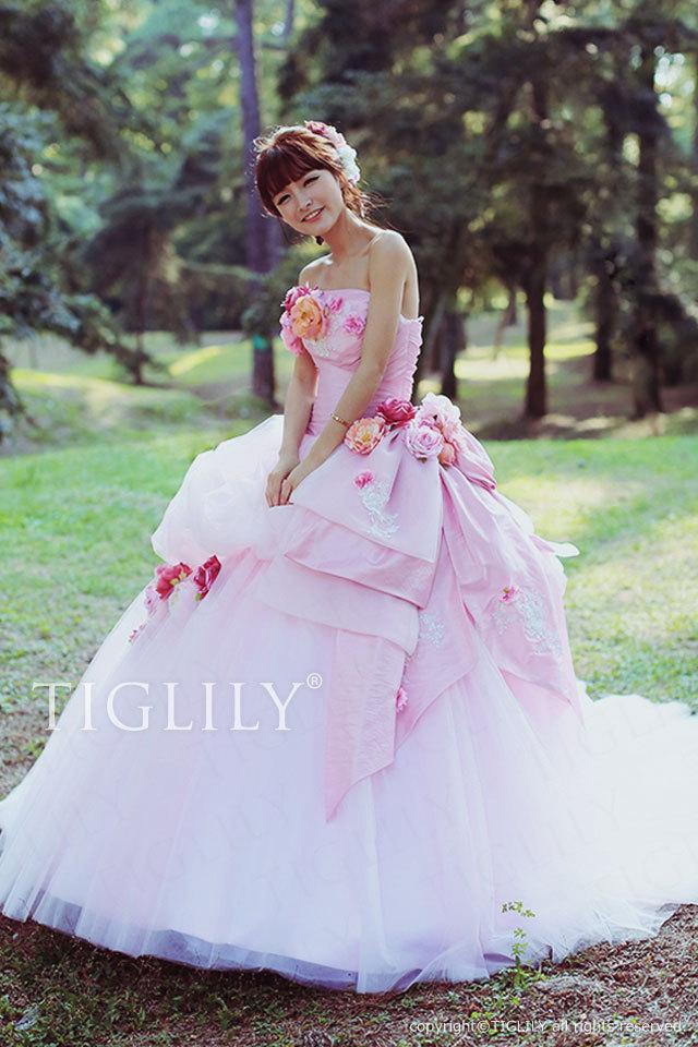 TIGLILY ティグリリィ お花のドレス c091