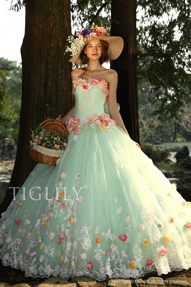 c116 TIGLILY カラードレス