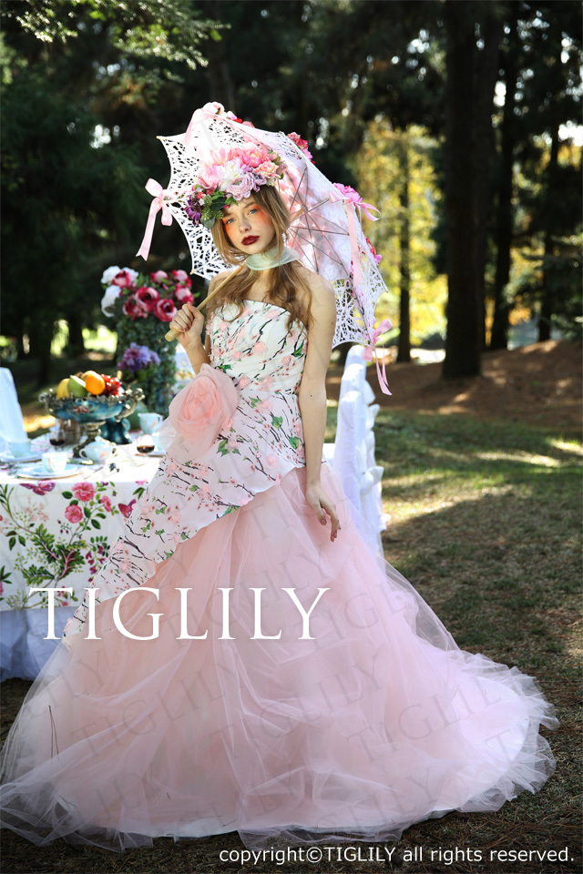 TIGLILYカラードレス(c151) アイリーン