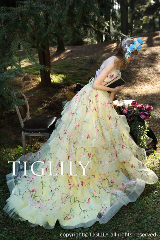 TIGLILYカラードレス(c153) エリー