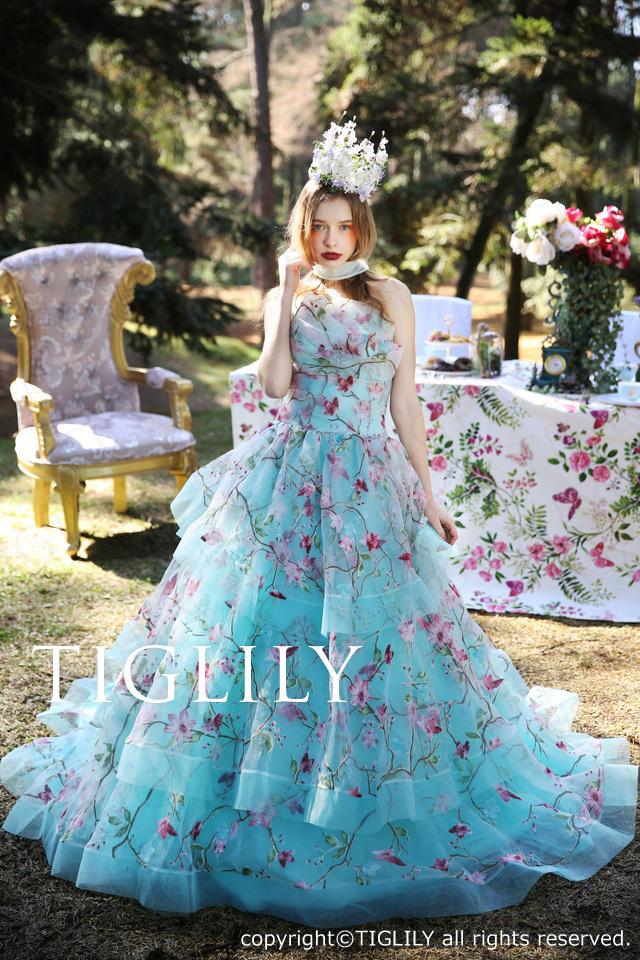 【ジュリア Julia】ウェディングドレス_カラードレス(c155)