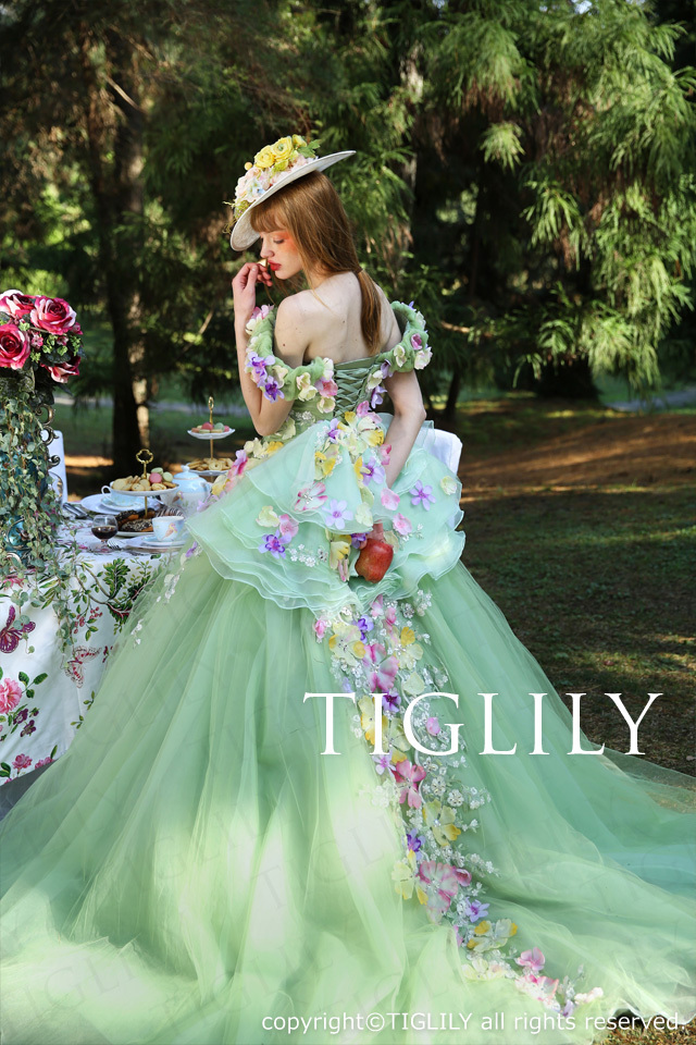 TIGLILYカラードレス(c157) ペイジ