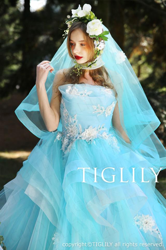 TIGLILYカラードレス(c160) サマー