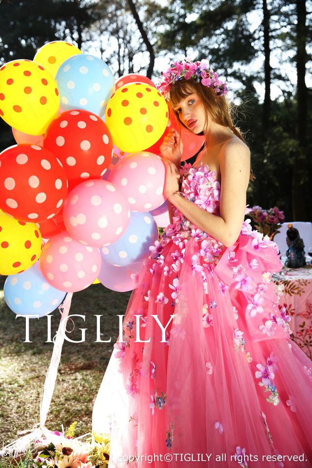 TIGLILYカラードレス(c166) リリアン