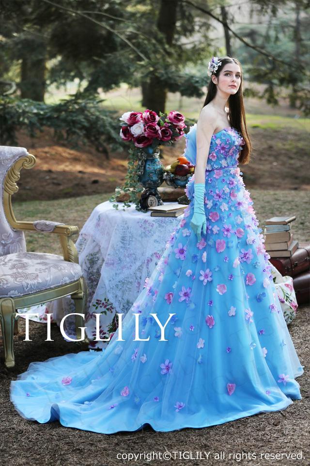 TIGLILY カラードレス c170
