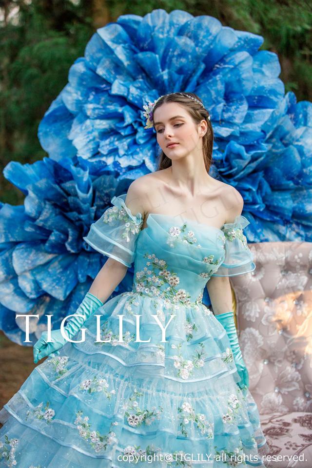 TIGLILY カラードレス c172