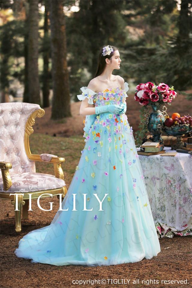 TIGLILY カラードレス c173