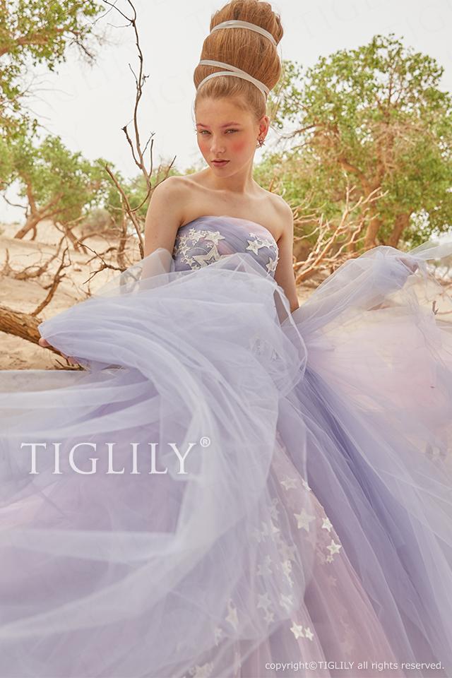 TIGLILY ティグリリィ カラードレス c183