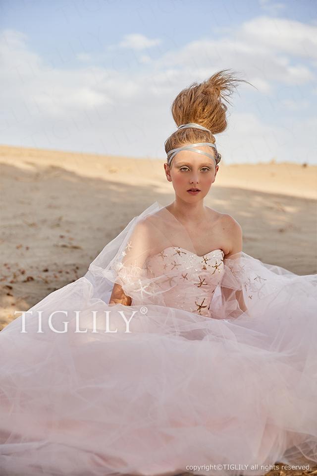 TIGLILY ティグリリィ カラードレス c185