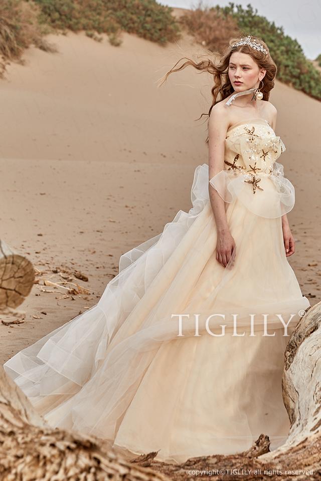 TIGLILY ティグリリィ カラードレス c186