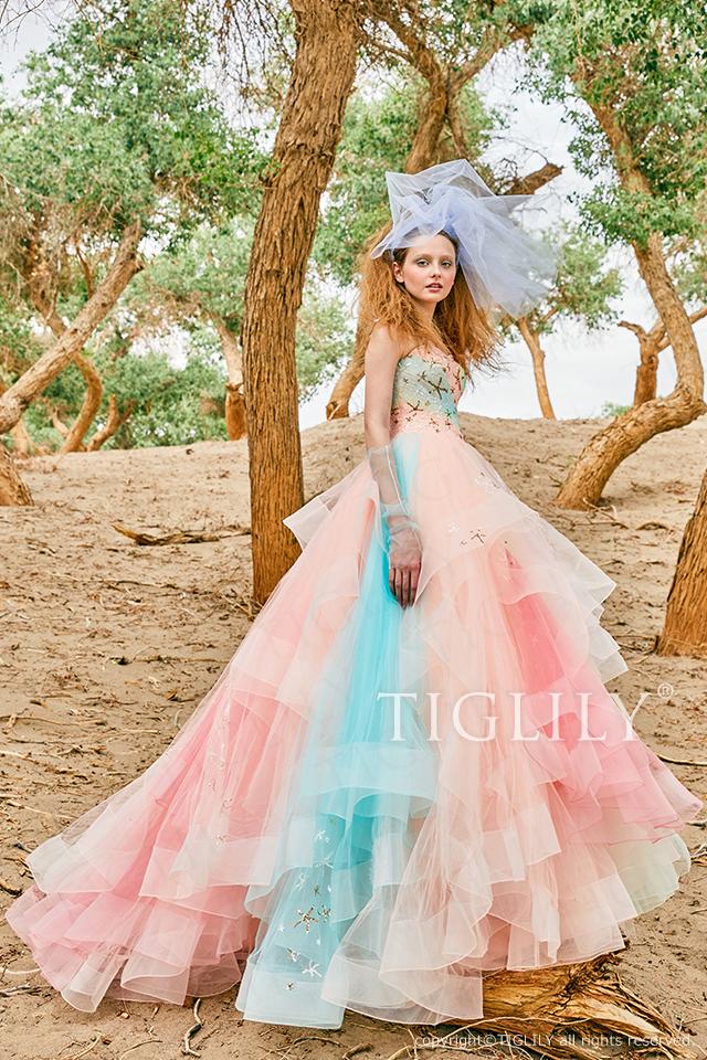TIGLILY ティグリリィ カラードレス c187