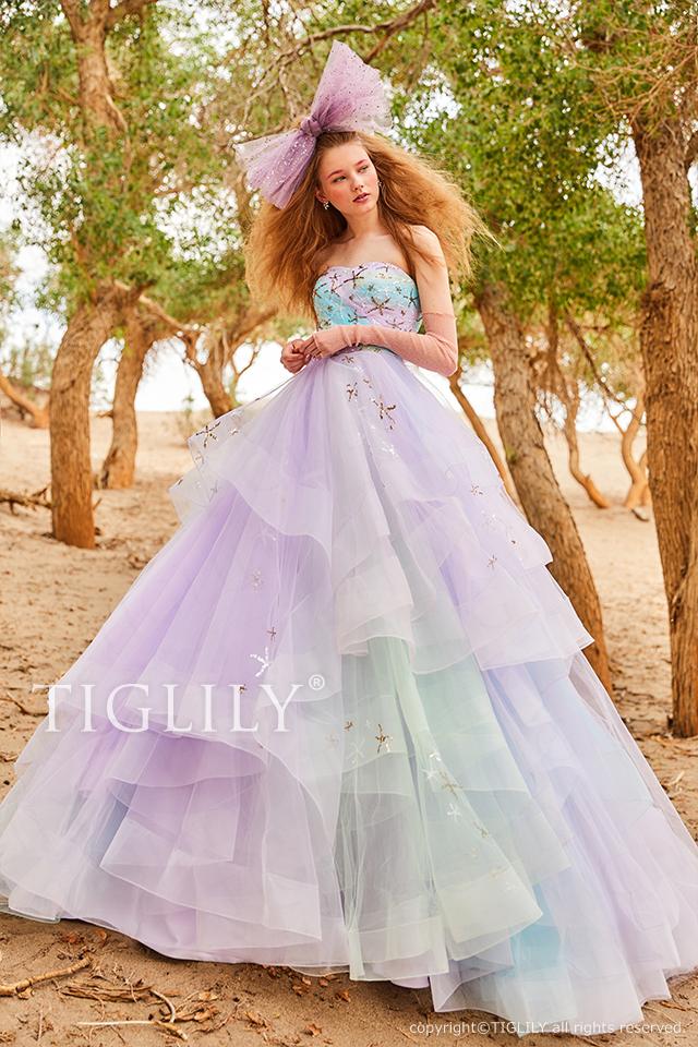 TIGLILY ティグリリィ カラードレス c188