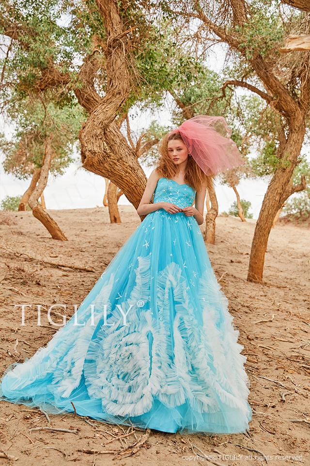 TIGLILY ティグリリィ カラードレス c189