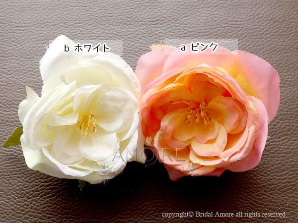 花飾り(ヘッドドレス、ブローチ、髪飾り)(f004)