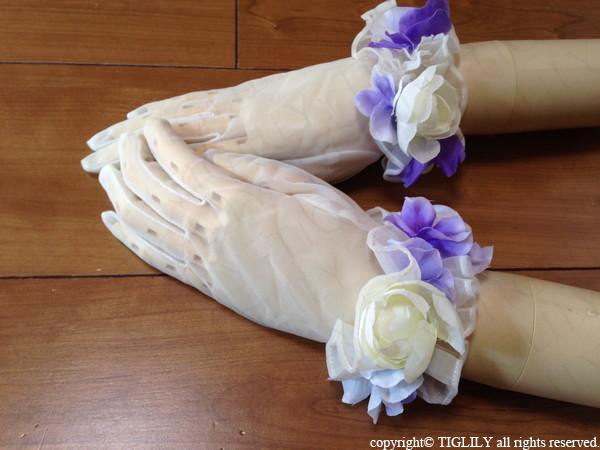 お花のウエディンググローブ(gf003)