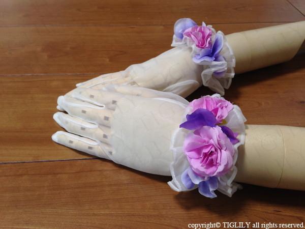 お花のウエディンググローブ(gf005)