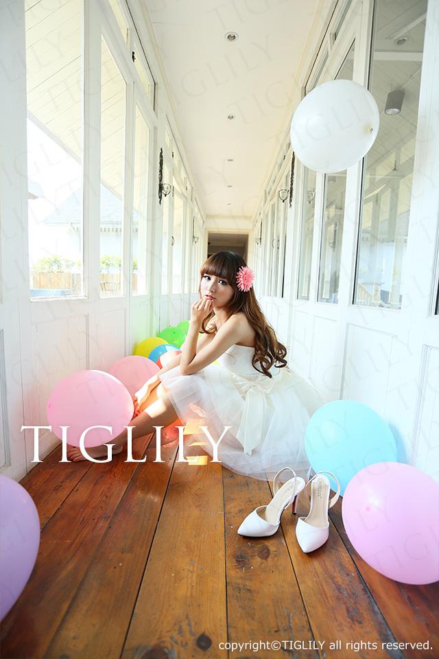 TIGLILY ミニドレス s047