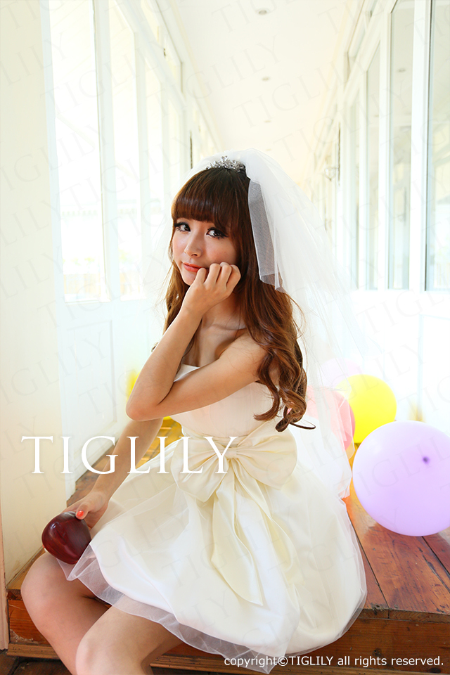 TIGLILY ミニドレス s049