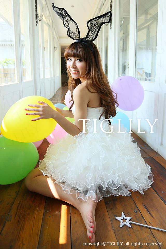 TIGLILY ミニドレス s057