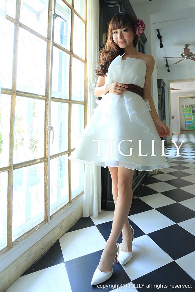 TIGLILY ミニドレス s059