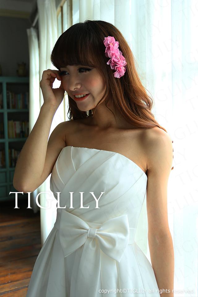TIGLILY ミニドレス s060