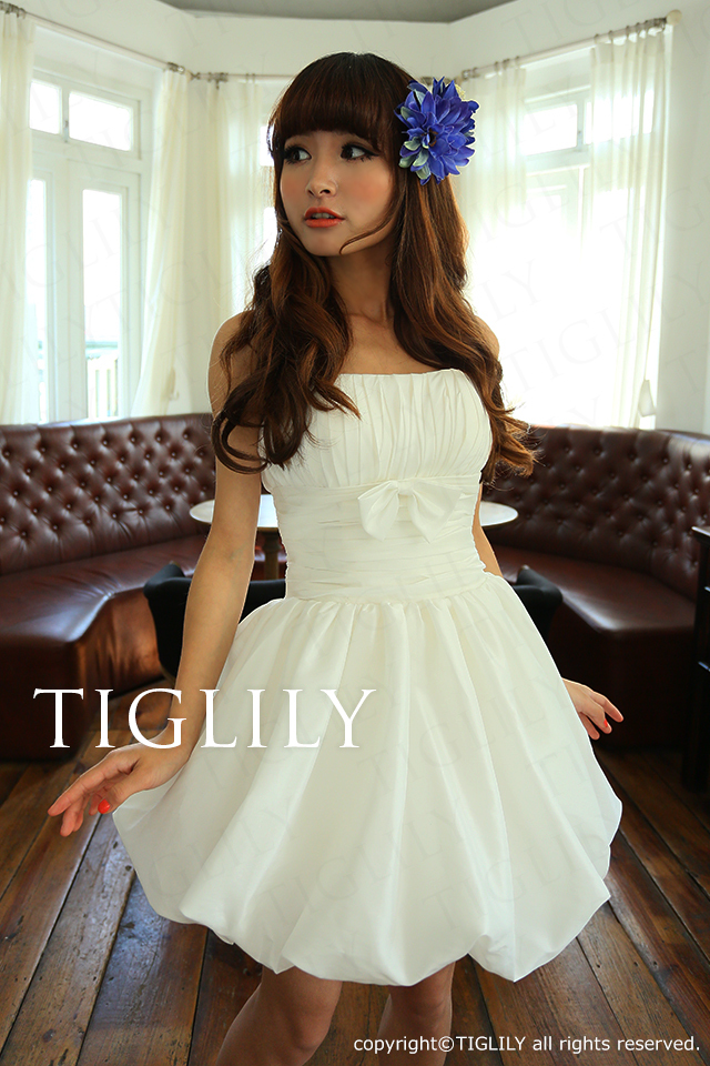 TIGLILY ミニドレス s064