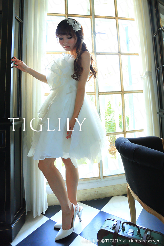 TIGLILY ミニドレス s089