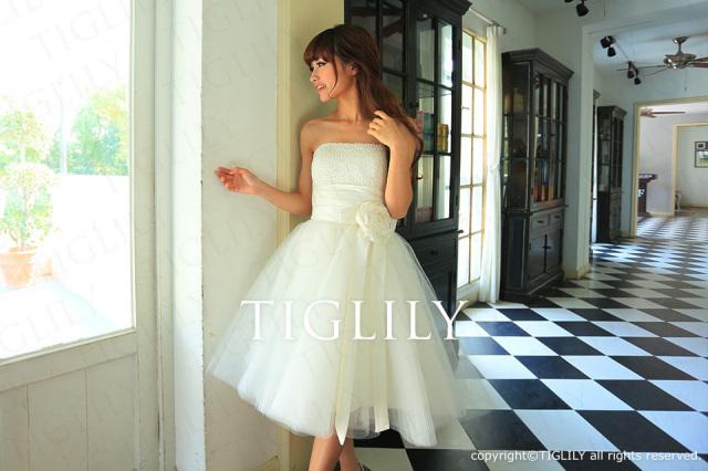 TIGLILY ミニドレス s090